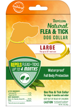 Load image into Gallery viewer, Tropiclean Natural Flea & Tick - Dog Collar (SM/L)