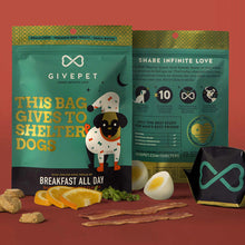 Load image into Gallery viewer, GIVEPET Grain-Free Treats - Breakfast All Day (340g)