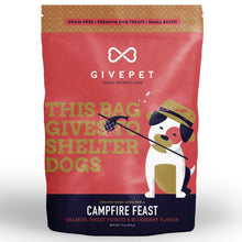Load image into Gallery viewer, GIVEPET Grain-Free Treats - Campfire Feast (340g)