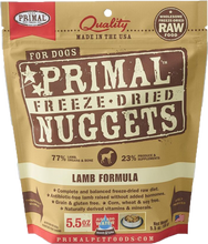 Load image into Gallery viewer, Primal Freeze-Dried Nuggets - Lamb Formula