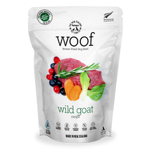 Load image into Gallery viewer, New Zealand Natural Pet Food Woof - Freeze Dried Dog Food Wild Goat (50g/280g/1kg)