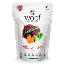 Load image into Gallery viewer, New Zealand Natural Pet Food Woof - Freeze Dried Dog Food Wild Venison (50g/280g/1.2kg)