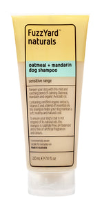 FuzzYard Naturals - Oatmeal + Mandarin Sensitive Shampoo 220ml