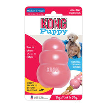 Load image into Gallery viewer, KONG® Puppy Toy (M) (Blue/Pink)