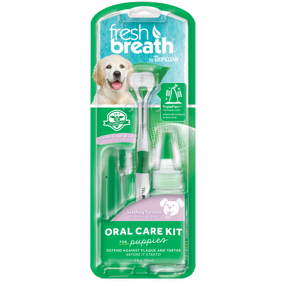 Tropiclean Fresh Breath - Puppy Oral Care Kit