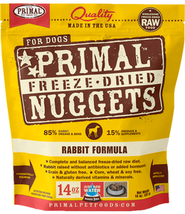 Primal Freeze-Dried Nuggets - Rabbit Formula