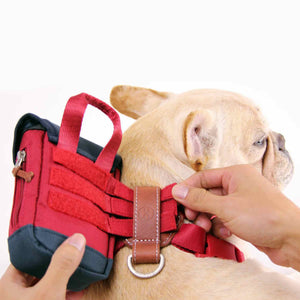 SPUTNIK Clean Bag Multi-Function Poop Bag Dispenser - Red