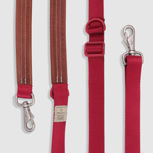 Load image into Gallery viewer, SPUTNIK Multi-Function Dog Leash - Red