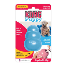 Load image into Gallery viewer, KONG® Puppy Toy (S) (Blue/Pink)