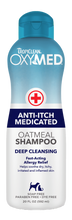 Load image into Gallery viewer, Tropiclean OxyMed - Anti-Itch Medicated Pet Shampoo (20 fl. oz./1 Gal)