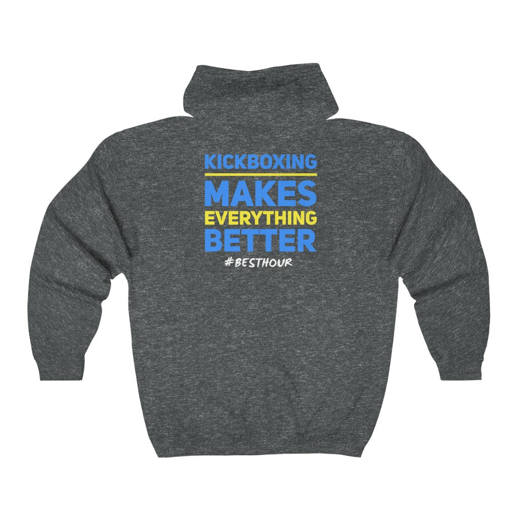 Kickboxing Makes Everything Better - Hoodie