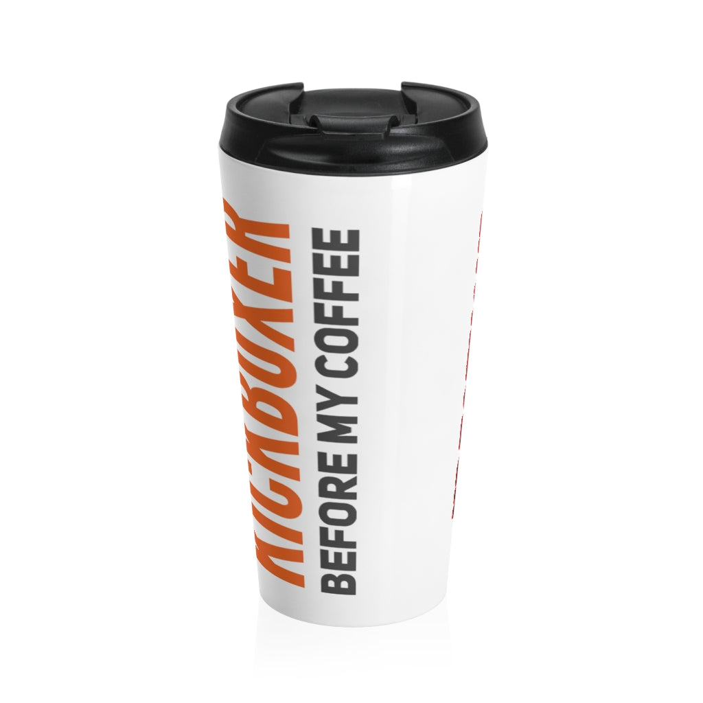 Don't Mess With This Kickboxer Stainless Steel Travel Mug