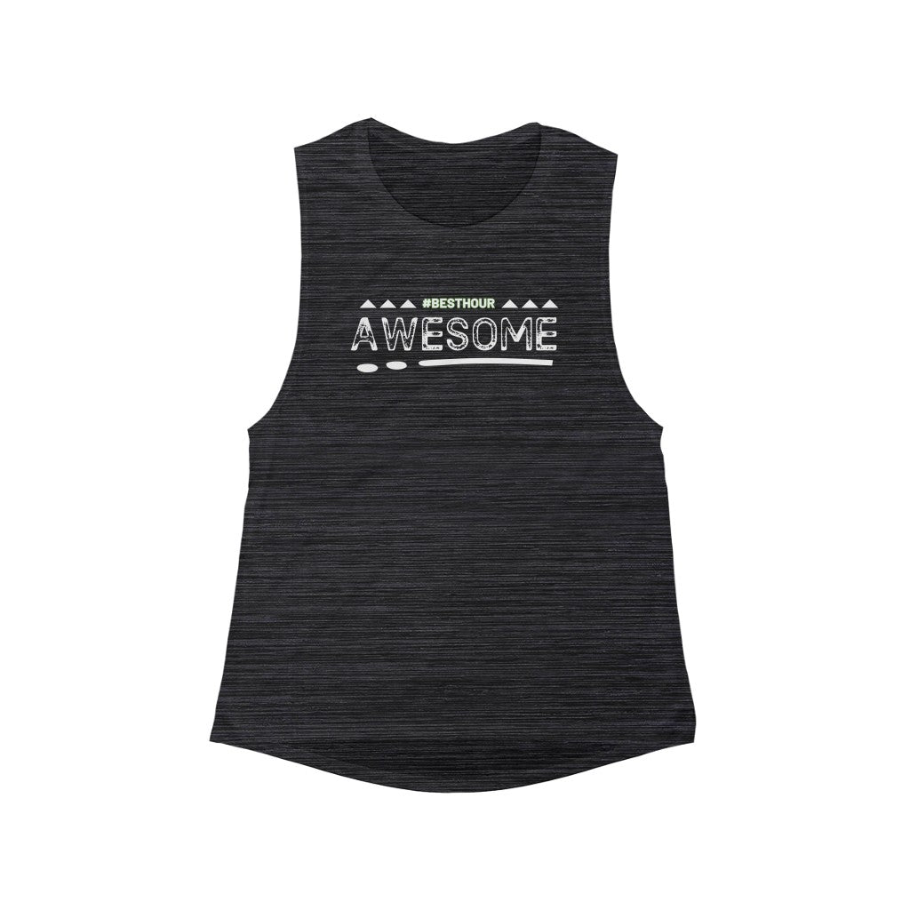 Women's AWESOME Scoop Muscle Tank
