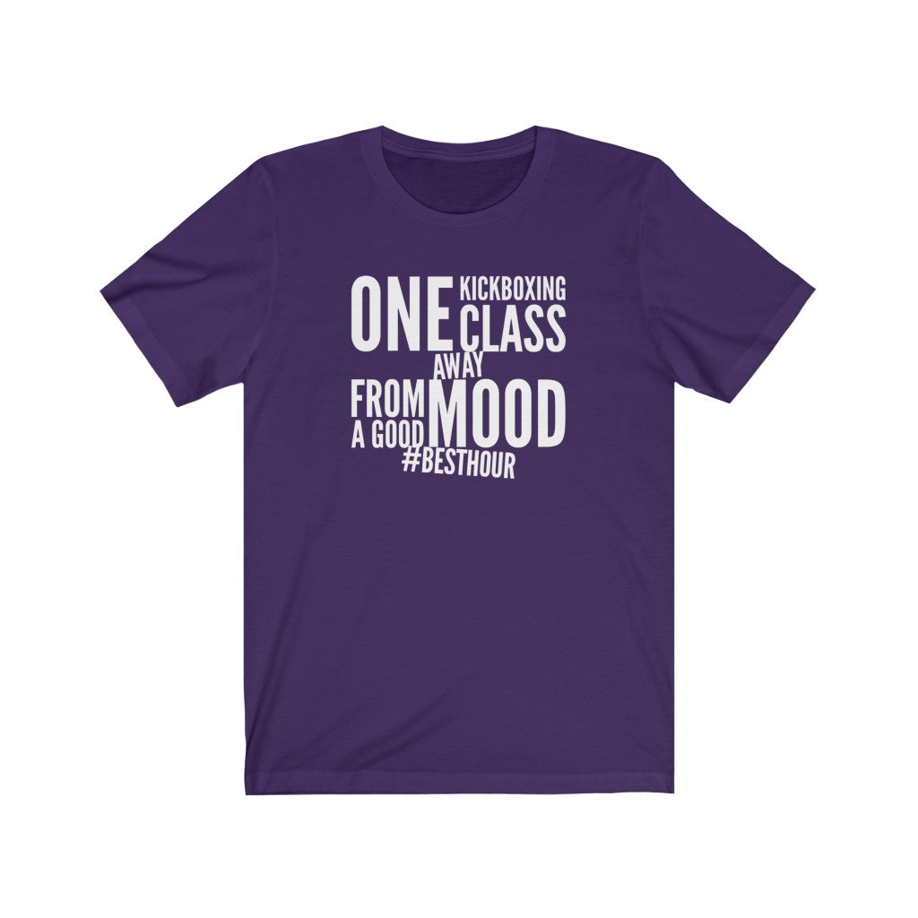 Good Mood Unisex Jersey Short Sleeve Tee