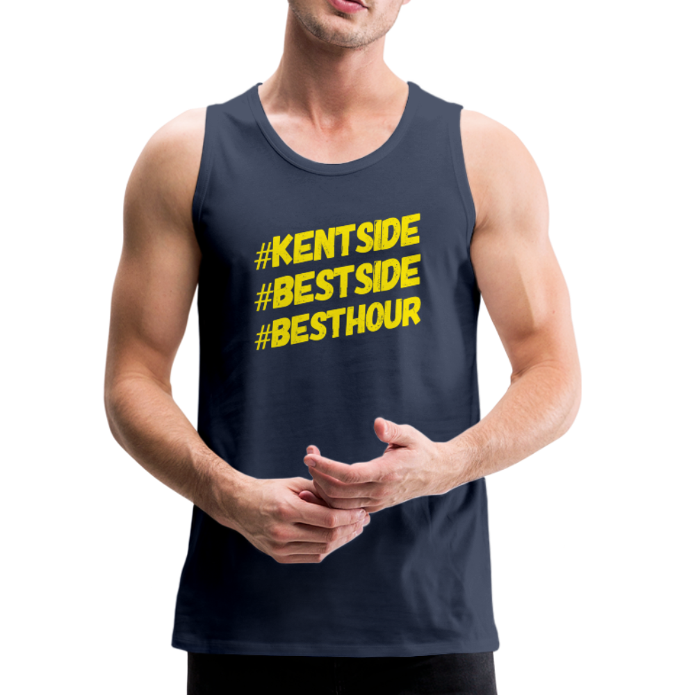 Men's #KentSide Loyalty Tank - navy