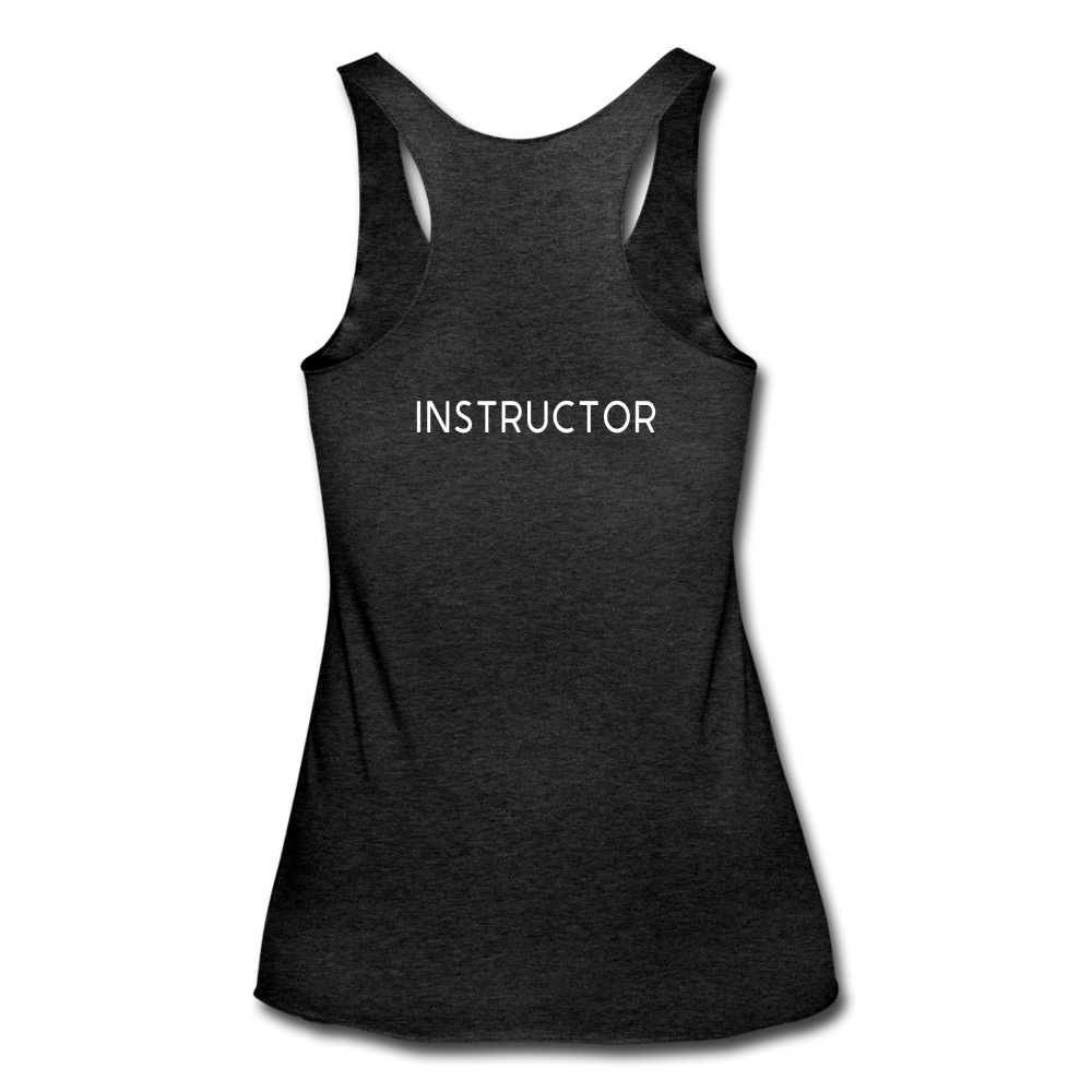 **INSTRUCTOR ONLY** Tri-Blend Racerback Tank - heather black