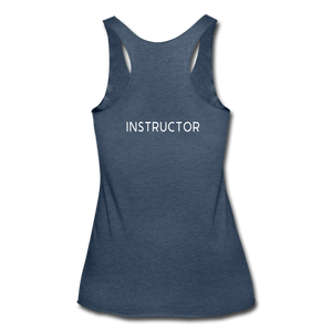 **INSTRUCTOR ONLY** Tri-Blend Racerback Tank - heather navy
