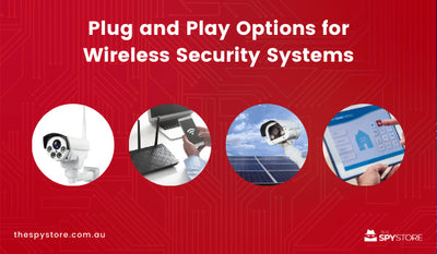 Plug and Play Options for Wireless Security Systems