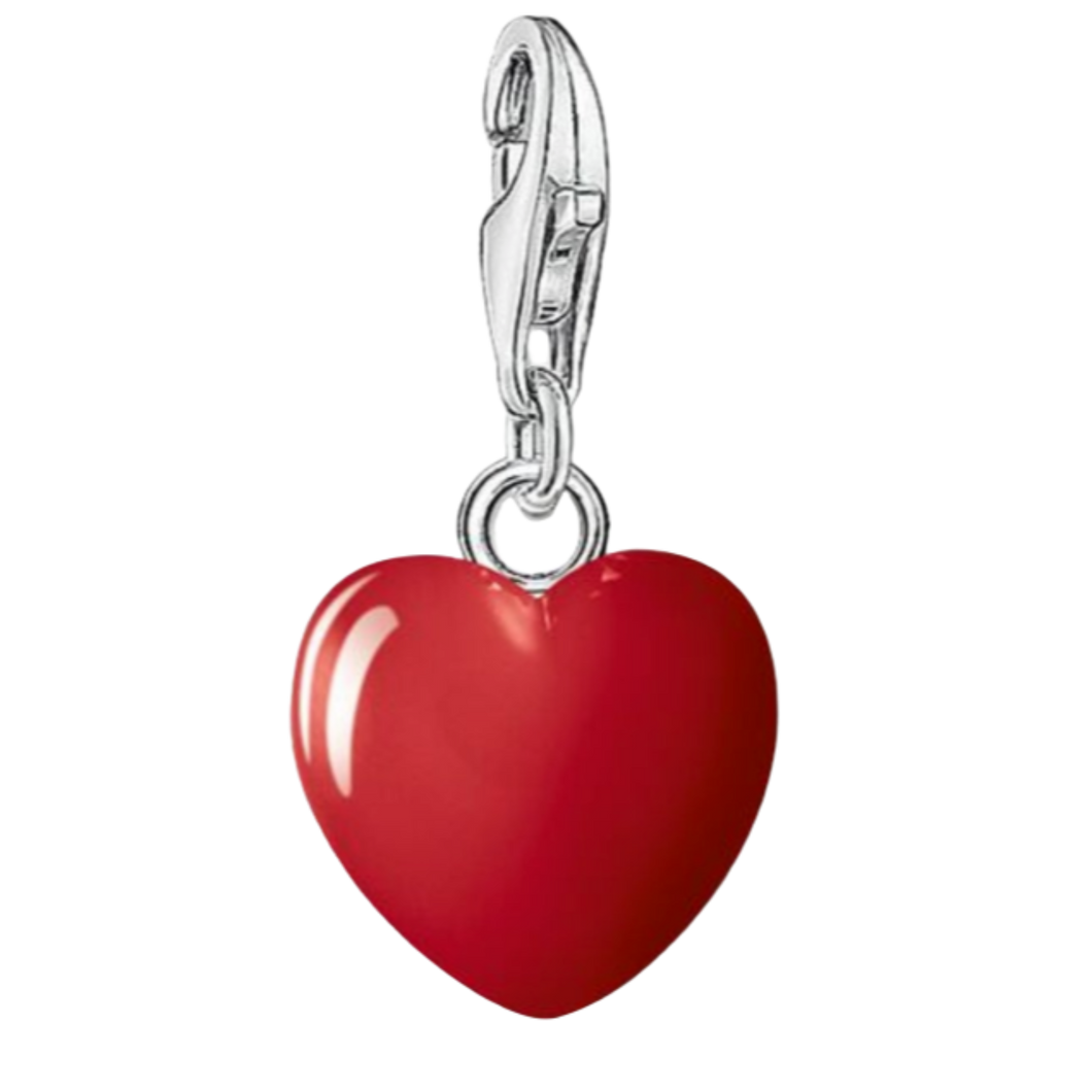 Charms Red Heart