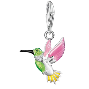 Charms Colorful Hummingbird