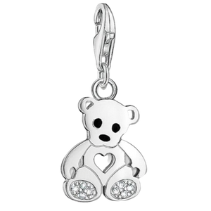 Charms Teddy Bear with Heart