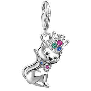 Charms Cat with Crown