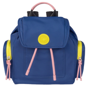 Small Tri-Navy Coloured Doromy Backpack