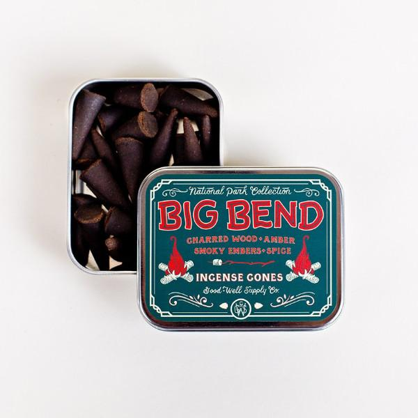 Big Bend incense in tin