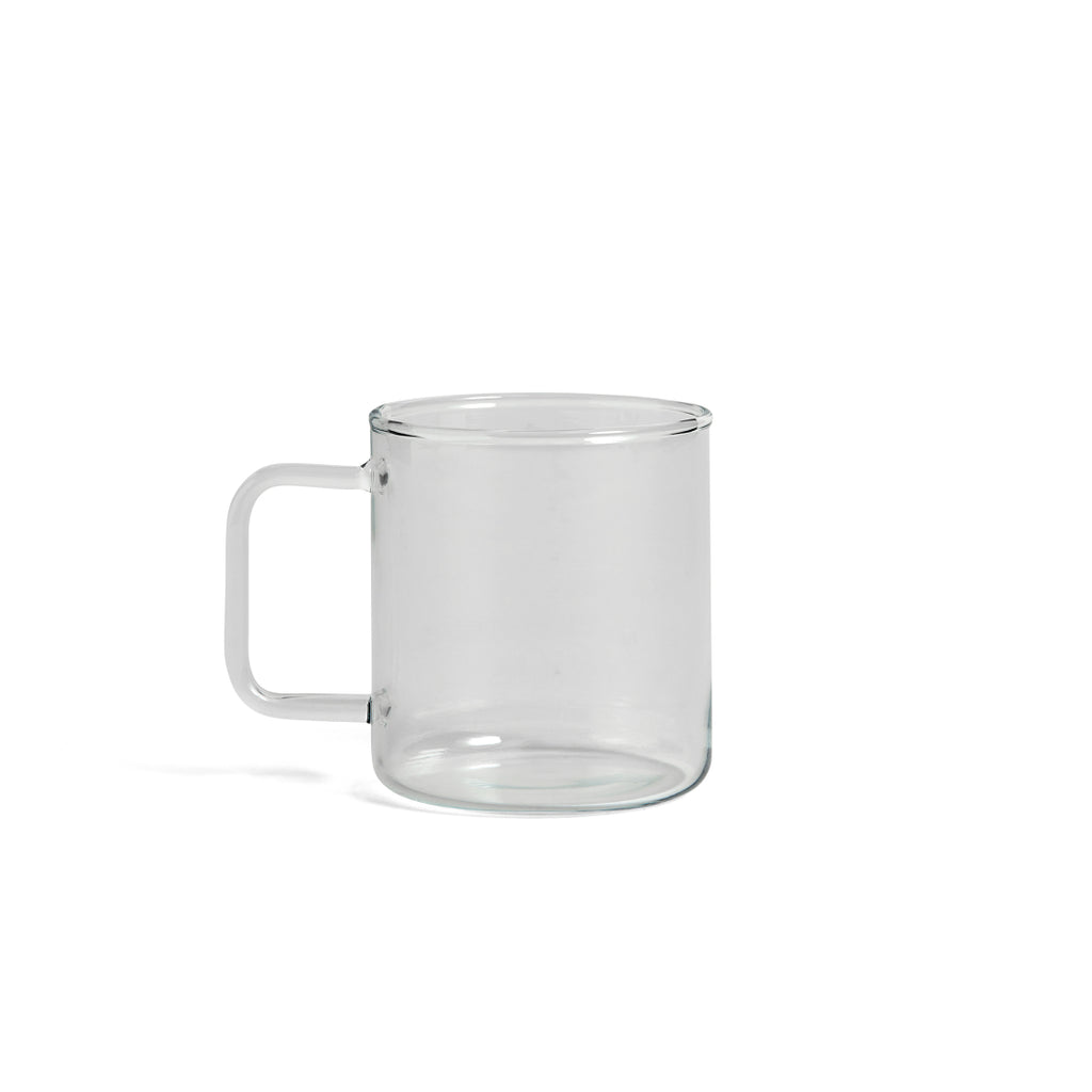 Glass coffee mug