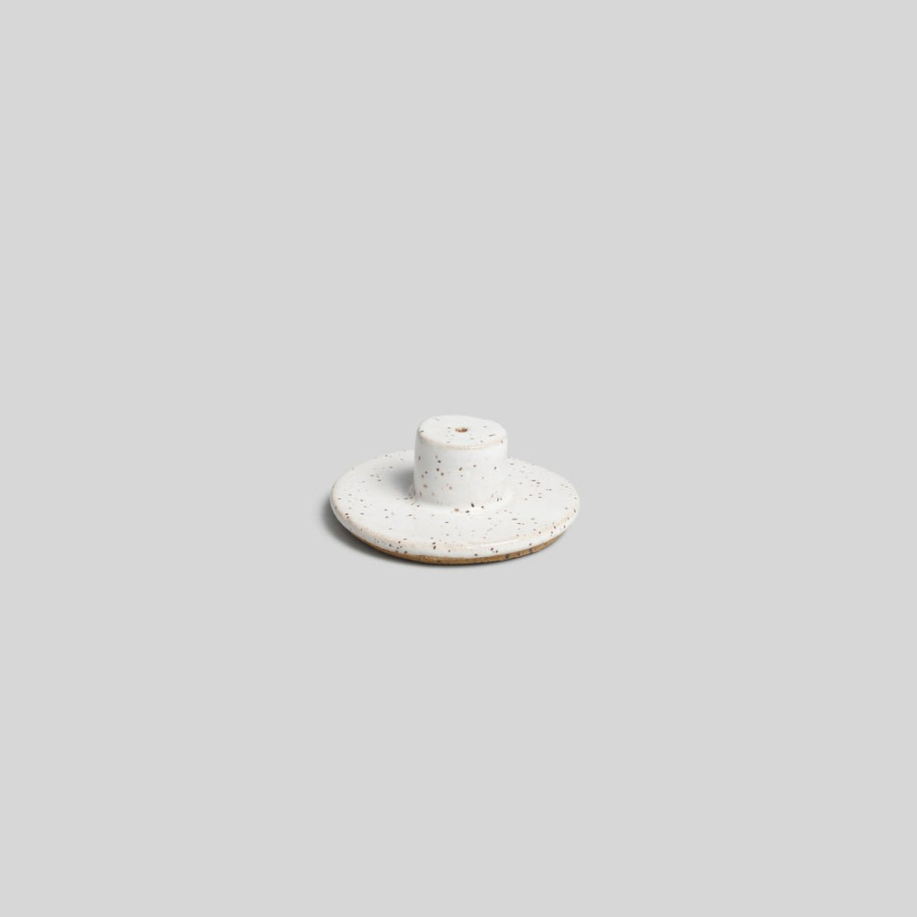 Incense burner in white