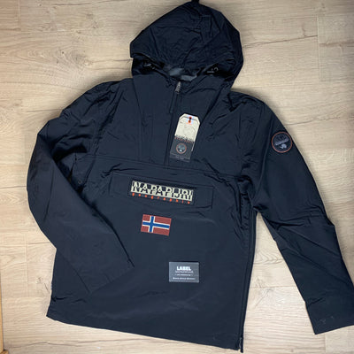 Napapijri Rainforest Jacket in Black - LABEL MENSWEAR