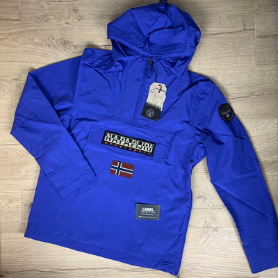 Napapijri Rainforest Jacket in Blue - LABEL MENSWEAR
