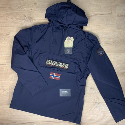 Napapijri Rainforest Jacket in Navy - LABEL MENSWEAR