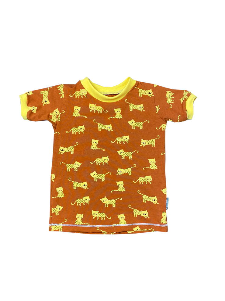 T-Shirt Tigerbaby gelb