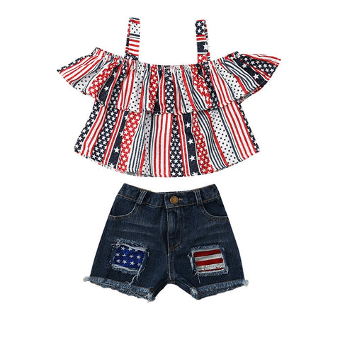 Toddler/Girl 4th of July Outfit