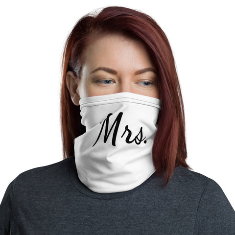 Mrs. Face Mask - Neck Gaiter