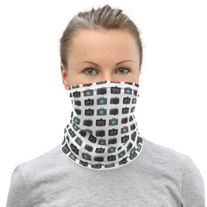 Camera Pattern - Neck Gaiter