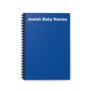 Jewish Baby Names Notebook