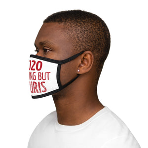 2020 Nothing  But Tsuris Mixed-Fabric Face Mask