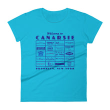 Load image into Gallery viewer, Canarsie Sign Blue Women's T-Shirt