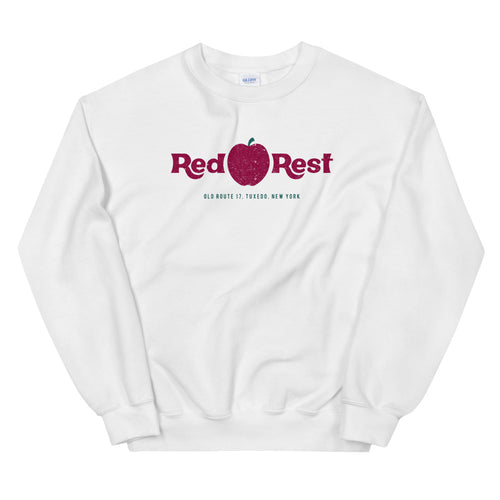Red Apple Rest Crew Neck Unisex Sweatshirt