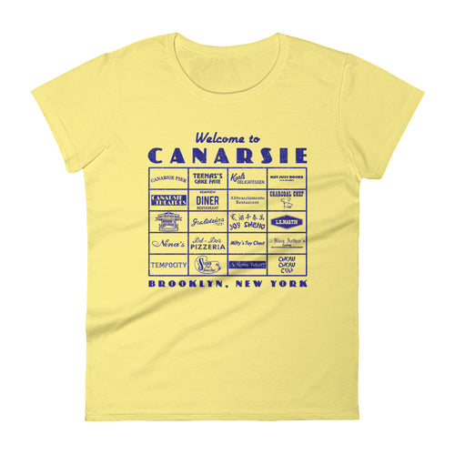Canarsie Sign Blue Women's T-Shirt