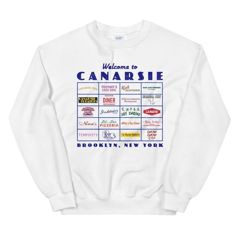 Canarsie Sign Unisex Sweatshirt