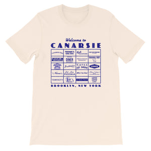 Canarsie Sign Blue Unisex T-Shirt