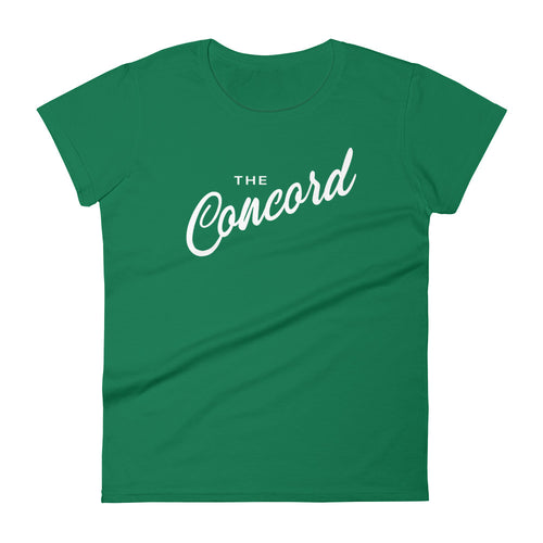 Concord (White Print) Women's T-Shirt