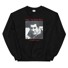 "Load image into Gallery viewer, Ruby ""The Knish Man"" Unisex Sweatshirt"