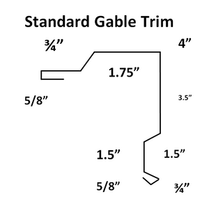 Commercial - Standard Gable Trim