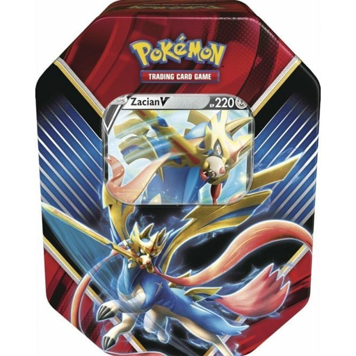 Zacian V Legends Of Galar Tin - Sword and Shield - PokeRand