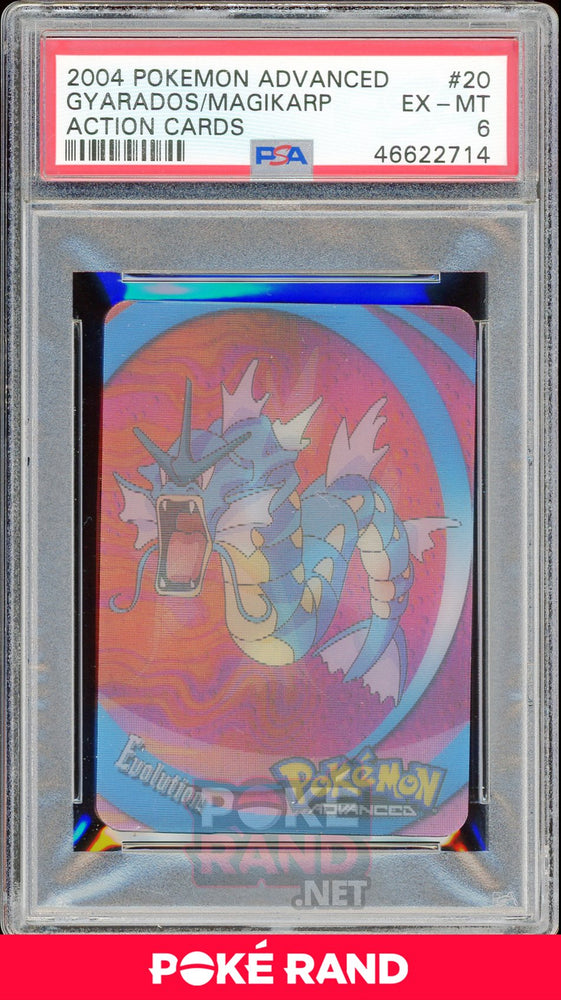 GYARADOS/MAGIKARP PSA 6 - Advanced Action - PokeRand