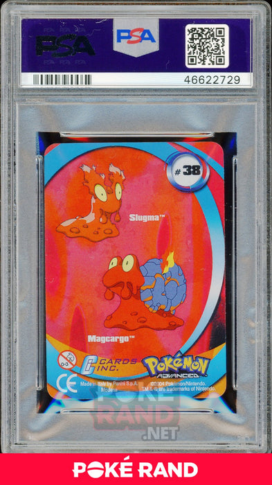 MAGCARGO/SLUGMA PSA 9 - Advanced Action - PokeRand